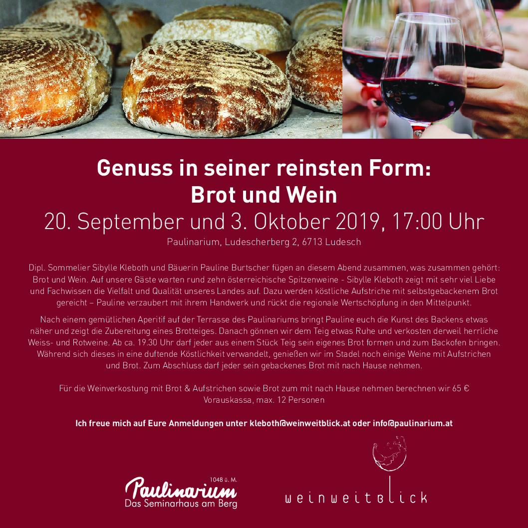 Brot und Wein Herbst-Edition
